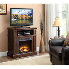 Media Electric Fireplace TV stand 42 console Heater storage entertainment Center
