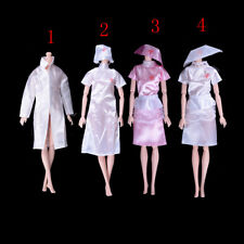 Doctor Clothes Dress Outfit For Barbie Doll Handmade Chirstmas Gift Fashion LA