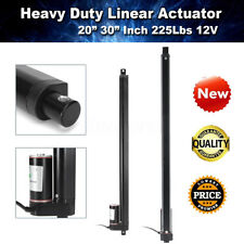"Heavy Duty 20""-30"" Linear Actuator Stroke 225 Lbs Pound Max Lift 12V Volt DC"