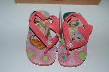 HAVAIANAS Genuine BNWT Baby THONGS FLIP FLOPS FROZEN Rose Logo Surf Back Strap