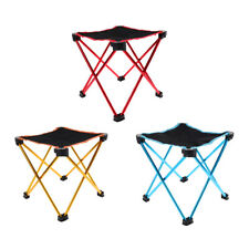 Perfeclan Portable Folding Stool Chair - Outdoor Camping Lawn Patio Picnic