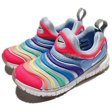 Nike Dynamo Free PS Multi-Color Preschool Girls Running Shoe Sneakers 343738-425