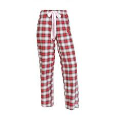 Louisville Cardinals Womens Pajamas Flannel Plaid Pajama Pants