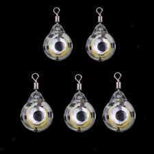 LED Deep Drop Underwater Eye Shape Electronic Fishing Squid Lure Light Baits