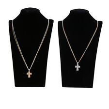 Magideal Cross Crucifix Pendant Religion Necklace Jewelry Girls Woman Charm Gift