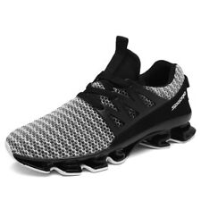 QICE Men's Running Shoes Spring blade Sneakers Cushioning Outdoor Sport Shoes