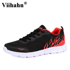Viihahn Mens Casual Shoes Black Gray 2017 New Arrival Breathable Comfortable
