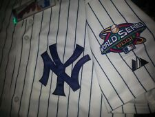 New New York Yankees cooperstown #42 Mariano Rivera 100Seasons patch SEWN Jersey