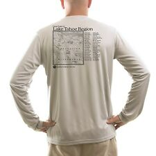 Lake Tahoe Region Men's UPF 50+ UV/Sun Protection Long Sleeve T-Shirt