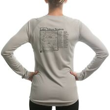 Lake Tahoe Region Women's UPF 50+ UV/Sun Protection Long Sleeve T-Shirt