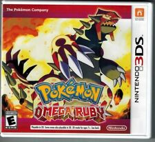 Nintendo DS / 3DS Artwork and Plastic Case (no game) Pokemon Omega Red, Tetris