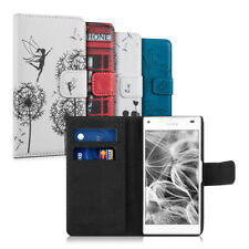 kwmobile WALLET SYNTHETIC LEATHER CASE FOR SONY XPERIA Z5 COMPACT PURSE STAND