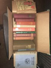 Lot of 12 ANTIQUE Old Vintage Books Collection Set all hardcover Early 1900's