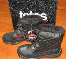 NEW TOTES WOMENS TOBY II WATERPROOF BLACK BOOTS SIZE 8 M