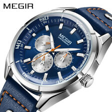 MEGIR Creative Army Military Watches Men Luxury Brand Quartz Sport Wrist Watch
