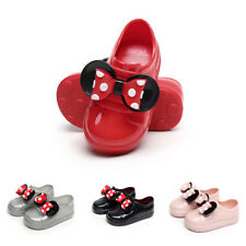 Kids Girls Toddler Princess Shoes Jelly Sandals Slip On Casual Party Dance Shoes