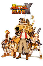 RGC Huge Poster - Metal Slug X Arcade PS1 PS2 Sega Saturn GLOSSY FINISH- NVG066