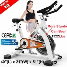 Health&Fitness Gym Exercise Stationary Bike Cardio Drive Indoor Cycling Bike HG