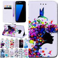 PU Leather Case TPU Skin Wallet Card Flip Stand Cover For Samsung Galaxy S7 edge