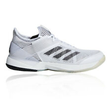 adidas Womens adizero Ubersonic 3 Tennis Shoes White Sports Breathable