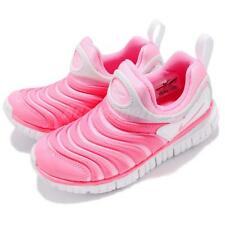 Nike Dynamo Free PS Pink Beam White Preschool Kids Junior Girls Shoes 343738-625