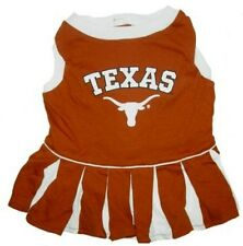 Texas Longhorns NCAA Licensed College Cheerleader Dog Dress- xs, sm, md,