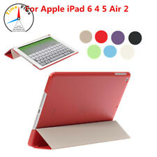 Mini Slim Magnetic Leather Smart Cover Hard Back Case For Apple iPad 6 4 5 Air 2