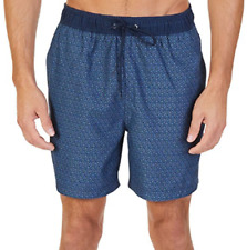 NWT Nautica Mens Quick Dry Swim Trunk Color True Navy Pick Your Size