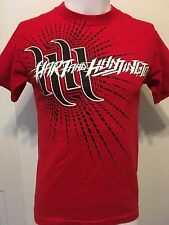 Hart And Huntington Ink Rock Moto Men's Red Graphic T Shirt Short Sleeve small