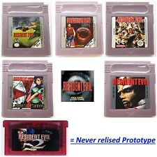 Resident Evil Gameboy Nintendo Color Advance GBA GBC All Parts Working Save 100%