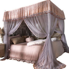 Princess 4 Corner Post Bed Curtain Canopy Mosquito Net Or Bed Canopy Frame