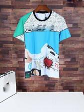 New Style Men's Tops Tee Shirt Slim Shoes Printing Pattern Casual T-Shirt S~XL