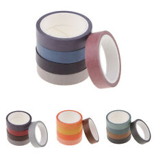 5 Rolls Washi Tape Set Decorative Masking Tape Adhesive Paper Tape Sticker