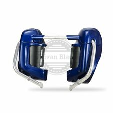 Superior Blue Lower Vented Fairing Fit Harley Touring Street Electra Glide 83-17
