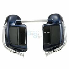 Big Blue Pearl Lower Vented Fairing for Harley 2014-18 Road Street Electra Glide
