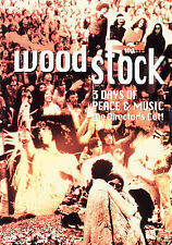 Woodstock - 3 Days of Peace & Music (DVD, The Director's Cut)