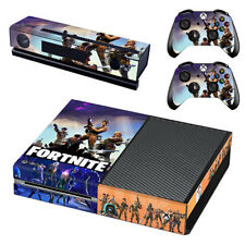 Fortnite Sticker Skin Cover Decal For Microsoft Xbox One Skins + 2 Controller