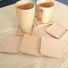 Wooden Tea Cup Holder Drink Placemat Heat Insulation Coaster Mat Pad Table Decor