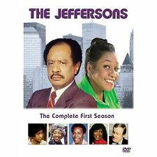 The Jeffersons The Complete First Season (DVD, 2002, 2-Disc Set) Brand New