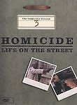 Homicide: Life on the Street - The Complete Season 3 (2003) A&E TV 6 DVD Set