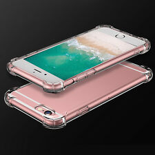 For iPhone 7 8 Crystal Clear Case Slim Protective Hard PC Hybrid Bumper Cover