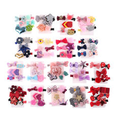 1 set Hairpin Baby Girl Hair Clip Bow Flower Mini Barrettes Star Kids Infan Yd