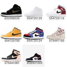 Nike Air Jordan 1 Mid / Hi GS / GG / BG Kids Youth Womens AJ1 Sneakers Pick 1