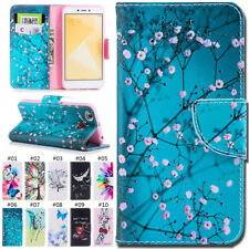 For Xiaomi Redmi 4/4X Painted Wallet Protective PU Leather Flip Stand Cover Case