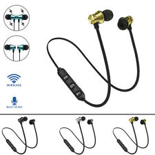 Wireless Bluetooth Stereo Earphone Headset  Magnetic In-Ear Earbuds Headphone