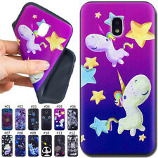 For Samsung Galaxy Various Relief Silicone Soft Case Cover TPU Rubber Back Skin