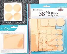 2/8/38 Piece Heavy Duty Felt Protector Pad Furniture Protect Floor Wood Laminate