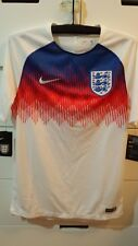 Nike England World Cup 2018 Men Football Soccer Training Shirt Jersey 893357-100