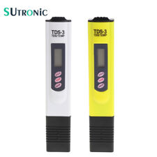 High Quality Digital LCD Water TDS Meter Quality Testing Pen Purity Filter