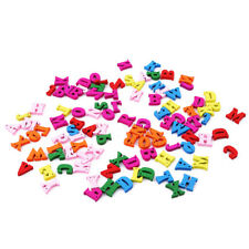 100PCS 26 English Alphabet  Blocks Festival Puzzles Letters Game Blocks AG